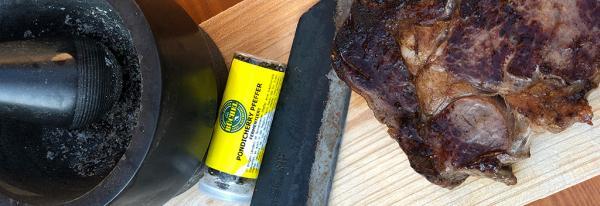 Steak mit fermentiertem Pfeffer