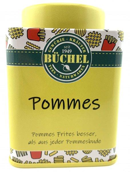 POMMES - Gewürzsalz in der Büchel Dose