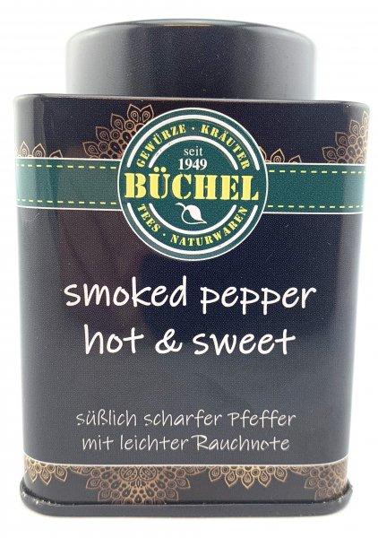 SMOKED-PFEFFER HOT & SWEET in der Büchel Dose