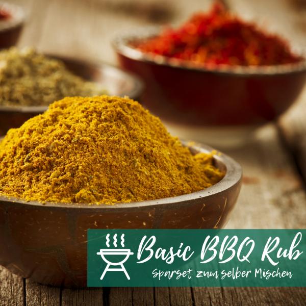 Basic BBQ Rub Sparset zum selber Mischen (12 Artikel)