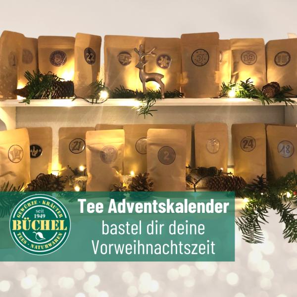Tee Adventskalender (do it yourself)