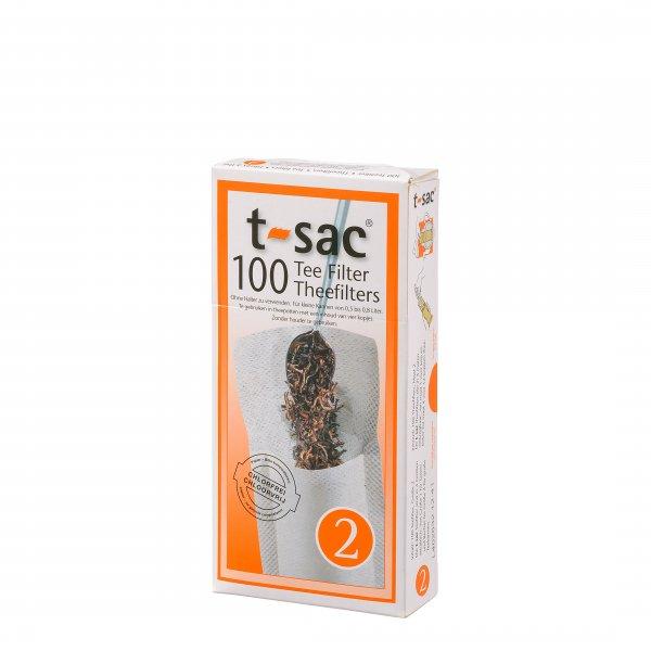 t-sac Teefilter Größe 2
