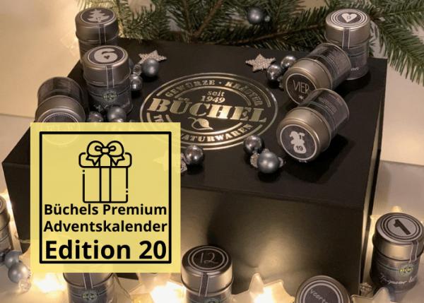 Büchels exklusiver Premium Adventskalender Edition 20